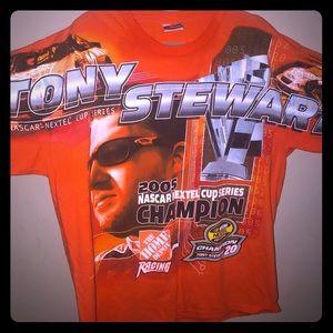 Vintage Nascar Tony Stewart XL t shirt